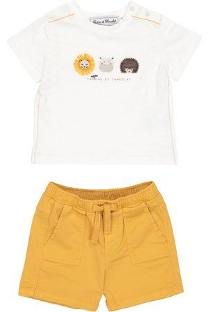Tartine Et Chocolat Baby - T-shirt e shorts in cotone