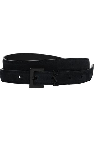 Saint Laurent Uomo Cinture - Cintura In Pelle
