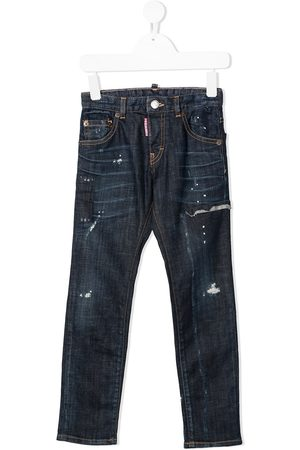 Dsquared2 Jeans dritti effetto vissuto