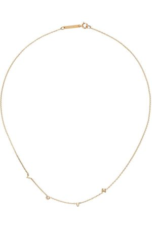 Zoe Chicco Collana in 14kt Love - YELLOW GOLD