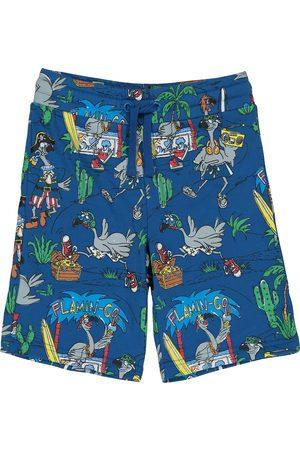 Stella McCartney Bambino Pantaloncini - Shorts a stampa in cotone