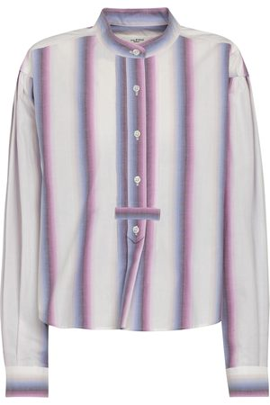 Isabel Marant Blusa Jamet a righe in cotone