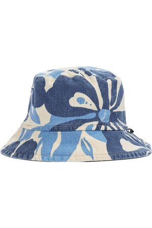 Il gufo Cappello da pescatore a stampa in misto cotone