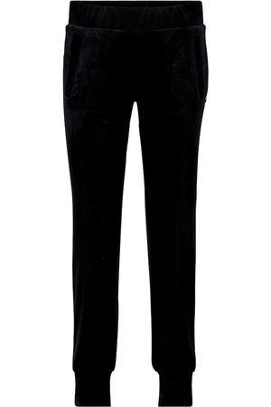 Norma Kamali Pantaloni sportivi in velluto