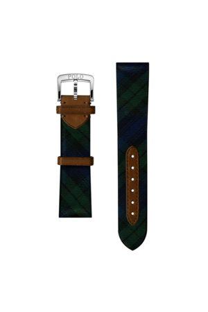 Polo Ralph Lauren Uomo Orologi - Cinturino da orologio in seta tartan