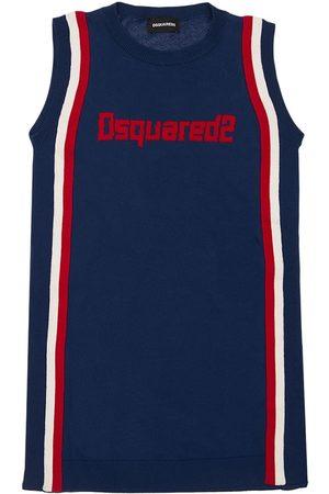 Dsquared2 Vestito In Jersey Di Cotone