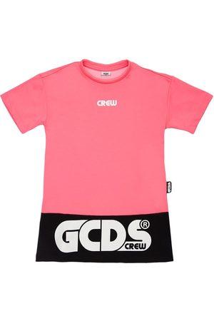 GCDS Bambina Vestiti estivi - Vestito In Jersey Di Misto Cotone