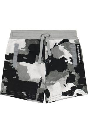 Dolce & Gabbana Pantaloncini - Baby - Shorts a stampa in cotone
