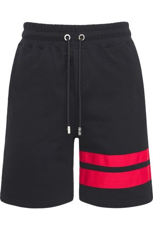 GCDS Uomo Pantaloncini - Shorts In Cotone Con Logo