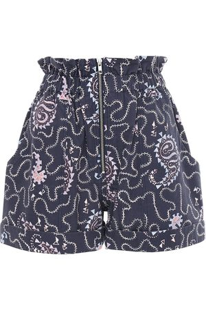 """Isabel Marant Shorts """"nawel"""" In Cotone Stampato"""