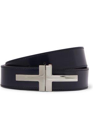 Tom Ford Uomo Cinture - 3cm Polished-Leather Belt