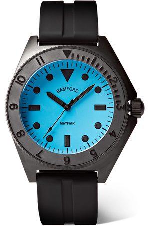 BAMFORD LONDON Uomo Orologi - Mayfair Stainless Steel and Rubber Watch