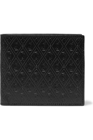 Saint Laurent Uomo Portafogli e portamonete - East/West Logo-Debossed Leather Billfold Wallet