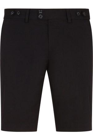 Dolce & Gabbana Shorts sartoriali con applicazione DG
