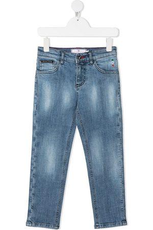 Philipp Plein Jeans dritti Iconic Plein