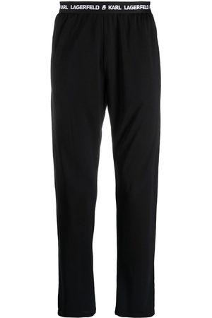 Karl Lagerfeld Pantaloni con banda logo