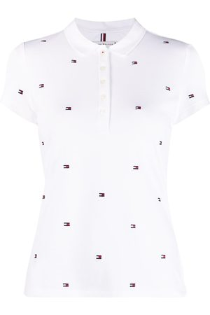 Tommy Hilfiger Donna Polo - Polo con stampa
