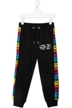 GCDS Pantaloni sportivi con banda logo