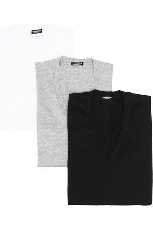 Dsquared2 T-shirt con scollo a V