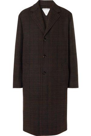Bottega Veneta Uomo Giacche invernali - Oversized Checked Double-Faced Wool-Blend Coat