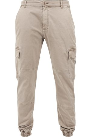 Urban classics Pantaloni cargo camello