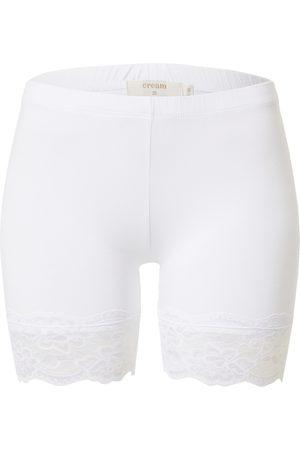 Cream Donna Pantaloni 'Matilda