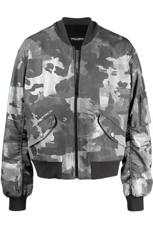 Dolce & Gabbana Bomber con stampa camouflage