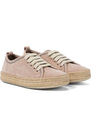 Brunello Cucinelli Sneakers espadrillas in suede