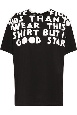 Maison Margiela T-shirt In Cotone Con Stampa