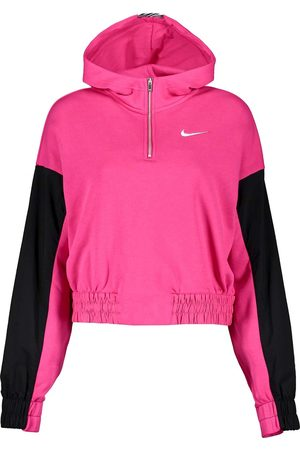 Nike Donna Hoodies - FELPA MEZZA ZIP CON CAPPUCCIO ICON CLASH DONNA