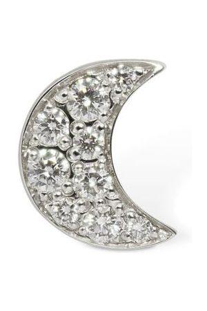 """Dodo Orecchino Singolo """"luna"""" In Oro 18k Con Diamanti"""