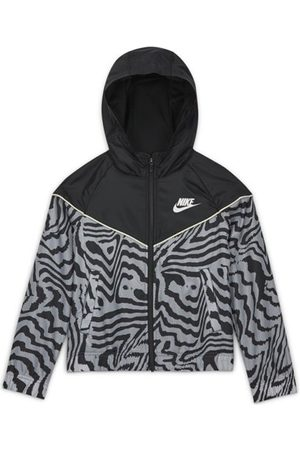 Nike NSW Big Kids' (Girls') Windrunner - giacca con cappuccio - ragazza