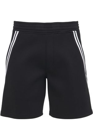 Neil Barrett Uomo Pantaloncini - Shorts In Felpa Di Viscosa Stretch