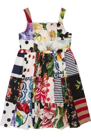 Dolce & Gabbana Vestito In Cotone Patchwork