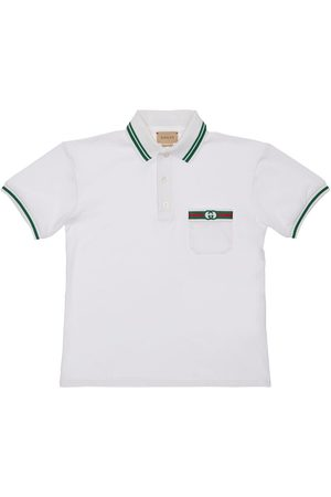 Gucci Polo In Cotone Piqué Stretch