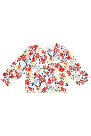 BONPOINT Baby - Cardigan in cotone a stampa floreale