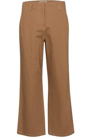 Max Mara Pantaloni Faesite in cotone e lino