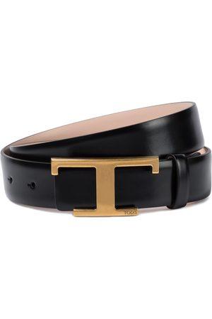 Tod's Cintura T Timeless in pelle