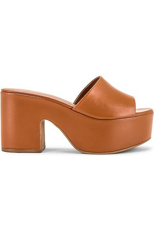 Larroude The Miso Platform Sandal in - Brown. Size 9 (also in 5.5, 6, 6.5, 7, 7.5, 8, 8.5, 9.5).