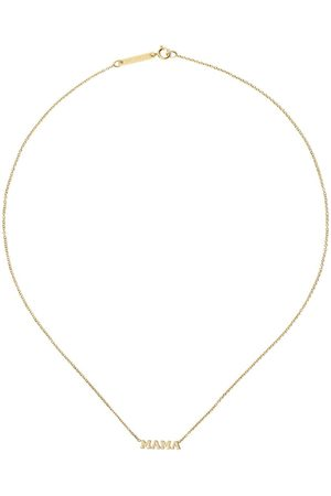 Zoe Chicco Collana in 14kt Mama - YELLOW GOLD