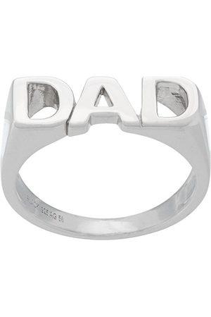 Maria Black Dad ring - Effetto metallizzato