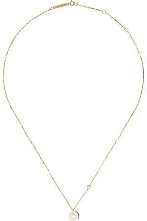 Zoë Chicco Collana in 14kt con perle e diamante - YELLOW GOLD