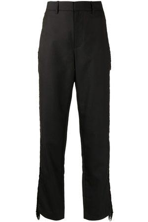 DION LEE Pantaloni con dettaglio a frange