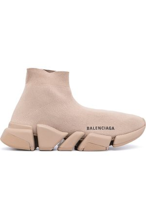 BALENCIAGA Donna Sneakers - Sneakers con stampa Speed