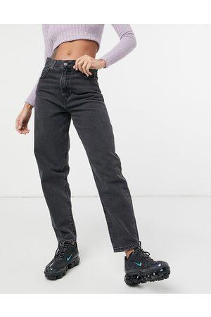 Levis Levi's - Jeans ampi affusolati neri a vita alta