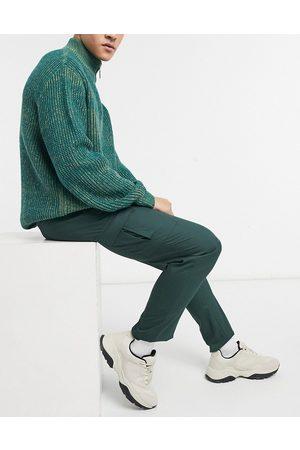 ASOS DESIGN Pantaloni eleganti skinny cargo scuro