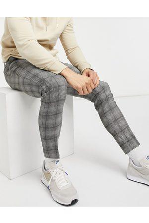 ASOS DESIGN Pantaloni eleganti super skinny a quadri