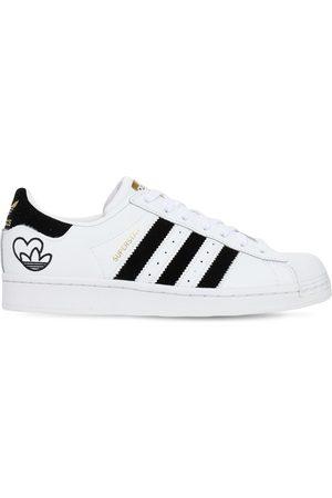 """adidas Sneakers """"valentines Superstar"""" In Pelle"""