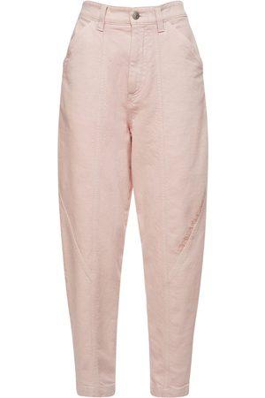 Stella McCartney Jeans Carrot Fit In Denim Di Cotone Organico