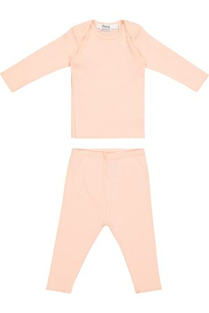 BONPOINT Baby - Top e pantaloni in cotone